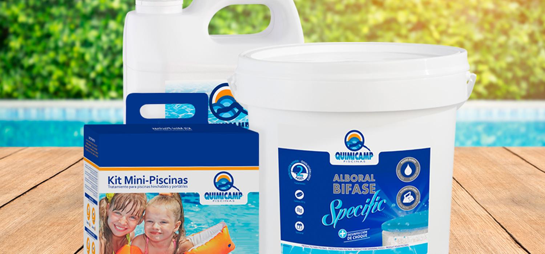Productos quimicos para piscinas Quimicamp